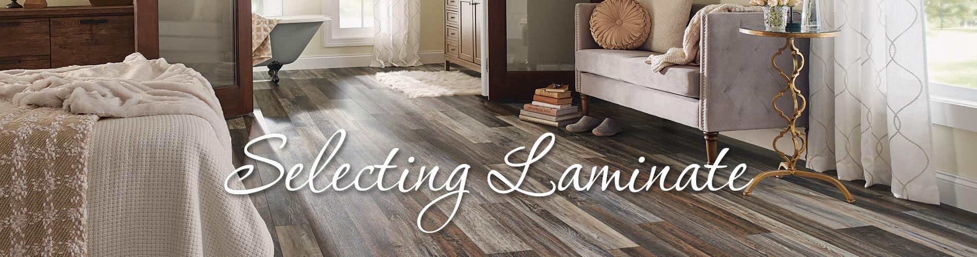 Selecting Laminate - Abbey Carpet